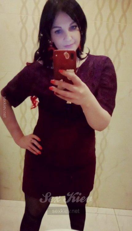 Проститутка Киева Жгучая брюнеточка, фото 7